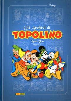 Copertina ARCHIVI DI TOPOLINO n.1 - 1949-1950, PANINI DISNEY