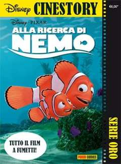 Copertina CINESTORY ORO n.3 - ALLA RICERCA DI NEMO, PANINI DISNEY