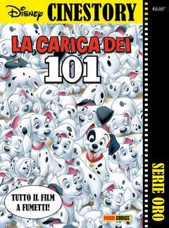Copertina CINESTORY ORO n.1 - LA CARICA DEI 101, PANINI DISNEY