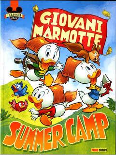 Copertina CLASSICI DISNEY n.8 - GIOVANI MARMOTTE SUMMER CAMP, PANINI DISNEY