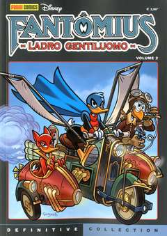Copertina DEFINITIVE COLLECTION n.5 - FANTOMIUS LADRO GENTILUOMO 2, PANINI DISNEY