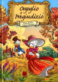 Copertina DISNEY DE LUXE n.27 - ORGOGLIO E PREGIUDIZIO, PANINI DISNEY