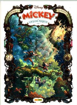 Copertina MICKEY E L'OCEANO PERDUTO n. - MICKEY E L'OCEANO PERDUTO, PANINI DISNEY