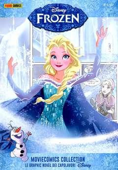 Copertina MOVIECOMICS COLLECTION Disney n.1 - FROZEN - IL REGNO DI GHIACCIO, PANINI DISNEY