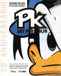 Copertina PK ART PORTFOLIO n. - PK ART PORTFOLIO DELUXE, PANINI DISNEY