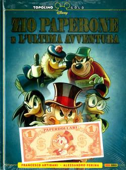 Copertina TOPOLINO GOLD n.2 - ZIO PAPERONE E L'ULTIMA AVVENTURA, PANINI DISNEY