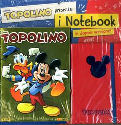 Copertina TOPOLINO LIBRETTO CON ALLEGATI n.3380 - AGENDA NOTEBOOK Blu o Rossa, PANINI DISNEY