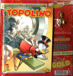 Copertina TOPOLINO LIBRETTO CON ALLEGATI n.3411 - CON QUI GOLD, PANINI DISNEY