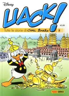 Copertina UACK! n.8 - TUTTE LE STORIE DI CARL BARKS, PANINI DISNEY