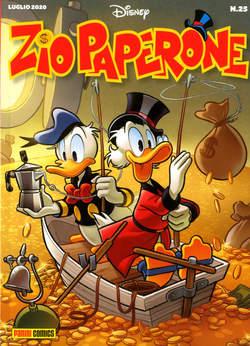 Copertina ZIO PAPERONE n.25 - ZIO PAPERONE, PANINI DISNEY