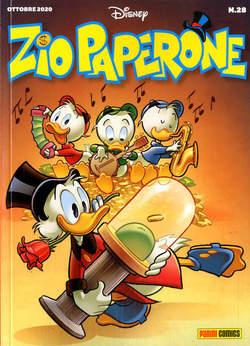 Copertina ZIO PAPERONE n.28 - ZIO PAPERONE, PANINI DISNEY