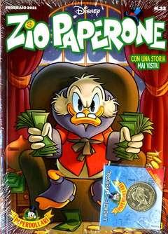 Copertina ZIO PAPERONE n.32 - ZIO PAPERONE + moneta, PANINI DISNEY