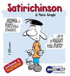 Copertina SATIRICHINSON n. - SATIRICHINSON, PERISCOPIO EDIZIONI