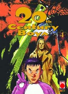 Copertina 20TH CENTURY BOYS n.4 - 20TH CENTURY BOYS RISTAMPA, PLANET MANGA