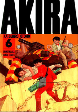 Copertina AKIRA Nuova Edizione (m6) n.6 - AKIRA, PLANET MANGA