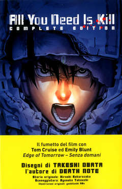 Copertina ALL YOU NEED IS KILL n. - ALL YOU NEED IS KILL - Complete Edition, PLANET MANGA