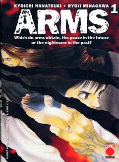 Copertina ARMS n.1 - ARMS, PLANET MANGA