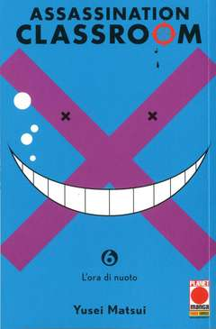 Copertina ASSASSINATION CLASSROOM (m21) n.6 - ASSASSINATION CLASSROOM, PLANET MANGA