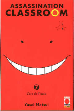 Copertina ASSASSINATION CLASSROOM Rist. n.7 - ASSASSINATION CLASSROOM, PLANET MANGA