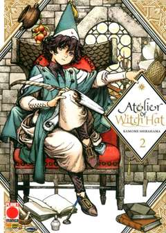 Copertina ATELIER OF WITCH HAT n.2 - ATELIER OF WITCH HAT, PLANET MANGA