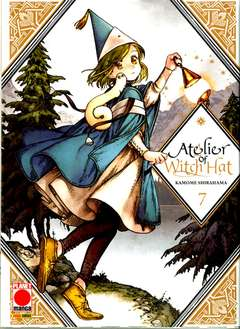 Copertina ATELIER OF WITCH HAT n.7 - ATELIER OF WITCH HAT, PLANET MANGA