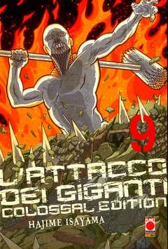 Copertina ATTACCO DEI GIGANTI COLOSSAL n.9 - L'ATTACCO DEI GIGANTI - Colossal Edition, PLANET MANGA