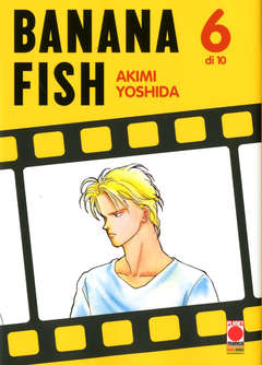 Copertina BANANA FISH (m10) n.6 - BANANA FISH, PLANET MANGA