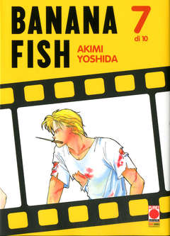 Copertina BANANA FISH (m10) n.7 - BANANA FISH, PLANET MANGA