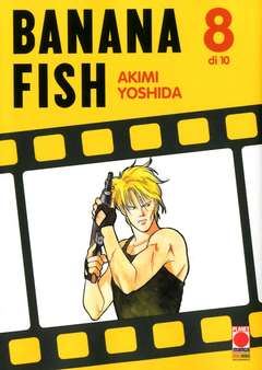 Copertina BANANA FISH (m10) n.8 - BANANA FISH, PLANET MANGA