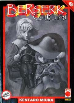 Copertina BERSERK COLLECTION SERIE NERA n.40 - BERSERK COLLECTION SERIE NERA, PLANET MANGA