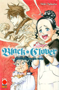 Copertina BLACK CLOVER n.9 - BLACK CLOVER, PLANET MANGA