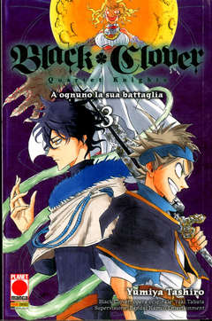 Copertina BLACK CLOVER QUARTET KNIGHTS n.3 - POWERS 10, PLANET MANGA