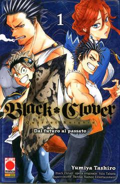 Copertina BLACK CLOVER QUARTET KNIGHTS n.1 - POWERS 8, PLANET MANGA
