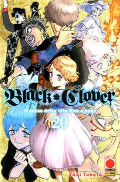 Copertina BLACK CLOVER Ristampa n.20 - BLACK CLOVER Ristampa, PLANET MANGA