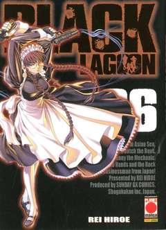 Copertina BLACK LAGOON n.6 - BLACK LAGOON RISTAMPA, PLANET MANGA