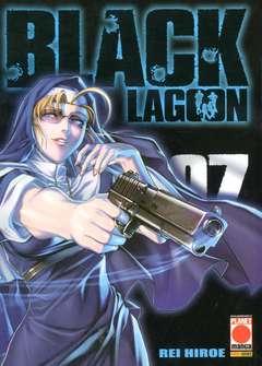 Copertina BLACK LAGOON n.7 - BLACK LAGOON RISTAMPA, PLANET MANGA