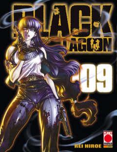 Copertina BLACK LAGOON n.9 - BLACK LAGOON RISTAMPA, PLANET MANGA