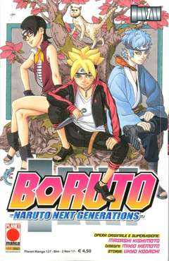 Copertina BORUTO NARUTO NEXT GENERATION n.1 - BORUTO NARUTO NEXT GENERATION, PLANET MANGA
