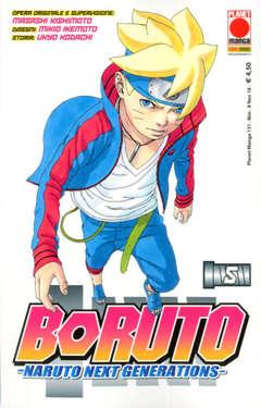 Copertina BORUTO NARUTO NEXT GENERATION n.5 - BORUTO NARUTO NEXT GENERATION, PLANET MANGA
