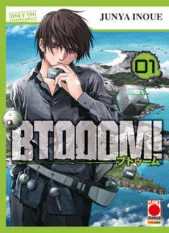 Copertina BTOOOM! (m26) n.1 - BTOOOM!, PLANET MANGA