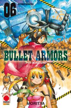 Copertina BULLET ARMORS n.6 - BULLET ARMORS, PLANET MANGA