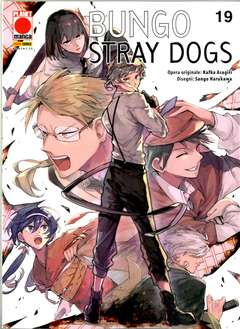 Copertina BUNGO STRAY DOGS n.19 - MANGA RUN 19, PLANET MANGA