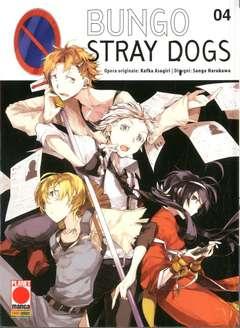 Copertina BUNGO STRAY DOGS n.4 - BUNGO STRAY DOGS, PLANET MANGA