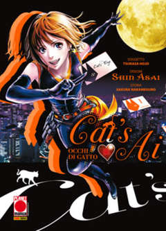 Copertina CAT'S AI n.1 - OCCHI DI GATTO, PLANET MANGA