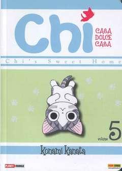 Copertina CHI n.5 - CASA DOLCE CASA, PLANET MANGA