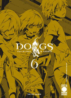 Copertina DOGS PALLOTTOLE & SANGUE n.6 - DOGS PALLOTTOLE & SANGUE, PLANET MANGA