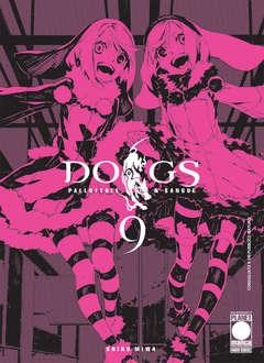 Copertina DOGS PALLOTTOLE & SANGUE n.9 - DOGS PALLOTTOLE & SANGUE, PLANET MANGA