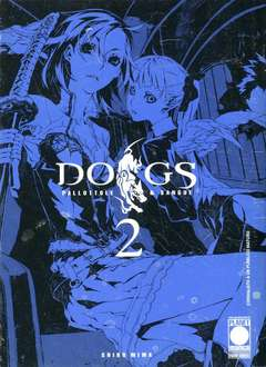 Copertina DOGS PALLOTTOLE & SANGUE n.2 - DOGS PALLOTTOLE & SANGUE, PLANET MANGA
