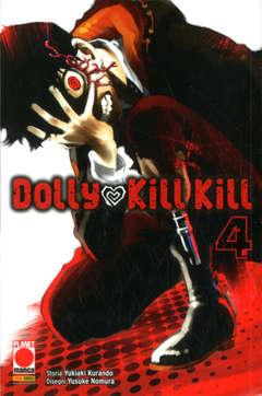Copertina DOLLY KILL KILL (m11) n.4 - DOLLY KILL KILL, PLANET MANGA
