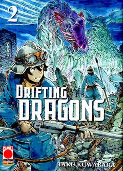 Copertina DRIFTING DRAGONS n.2 - DRIFTING DRAGONS, PLANET MANGA